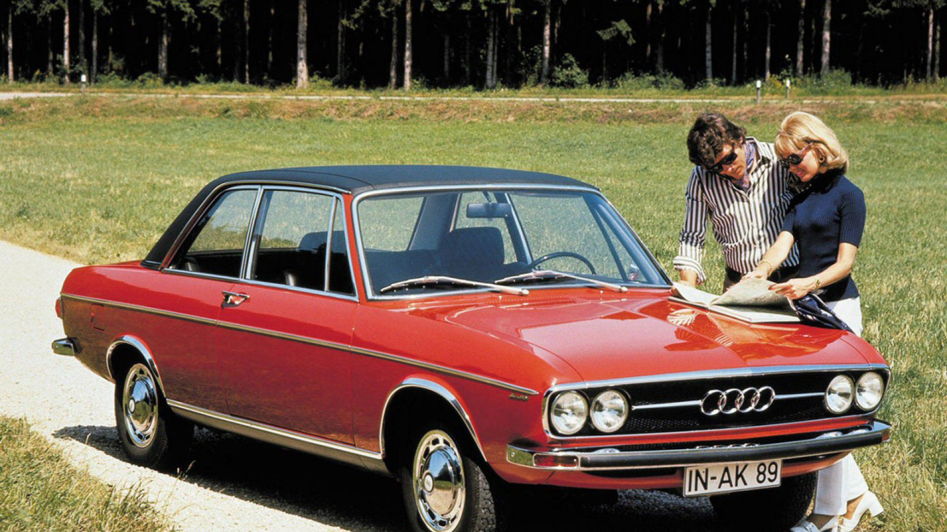 Audi 100 (1968 to 1976)