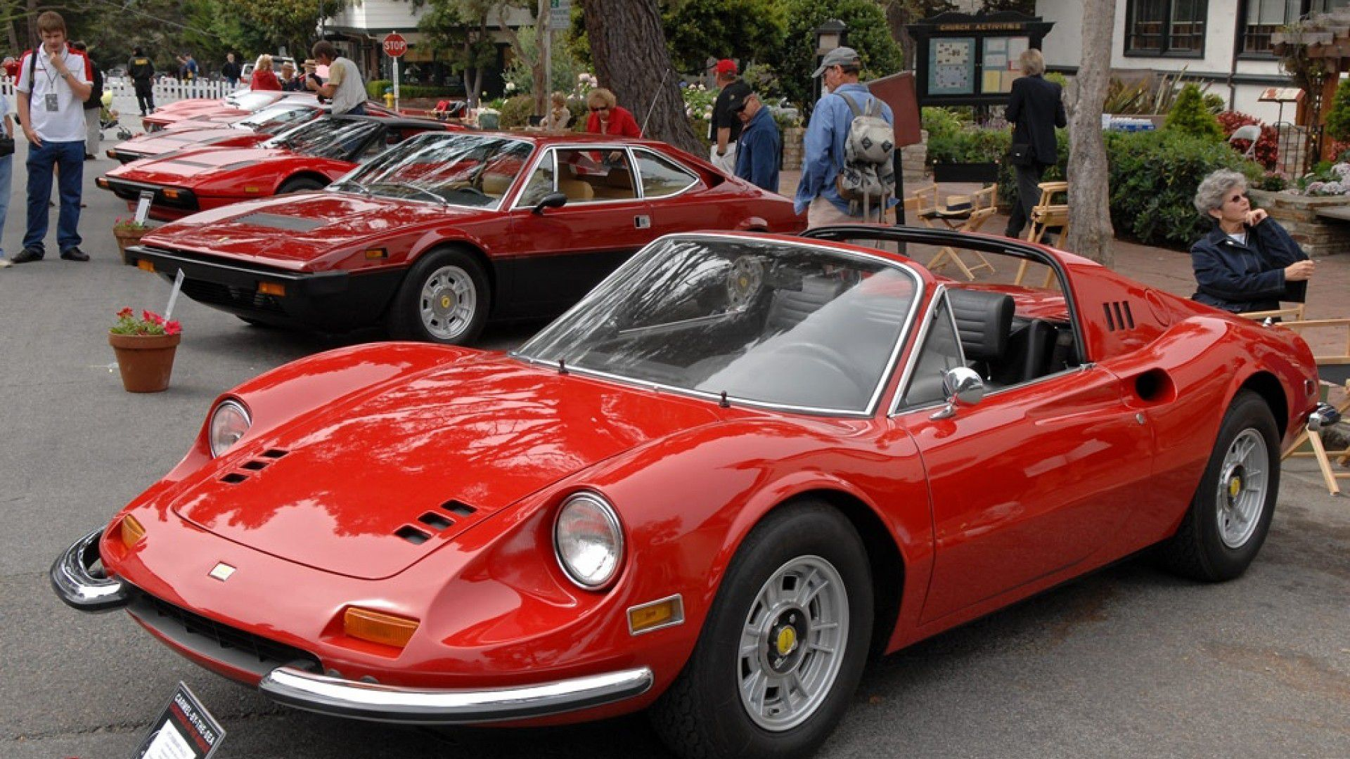 Ferrari 246GTS (targa top) Spider